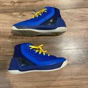 Under Armour Curry Basketball Shoes Kids Size 1Y